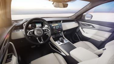 Jaguar F-Pace R-Dynamic Black - Light Oyster interior