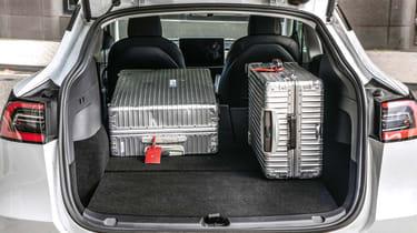 Tesla Model Y SUV boot