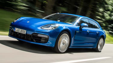 The Porsche Panamera Sport Turismo is an estate version of the luxury executive model