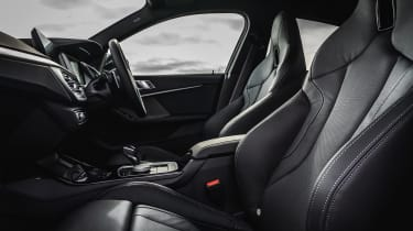 BMW M235i Gran Coupe saloon front seats