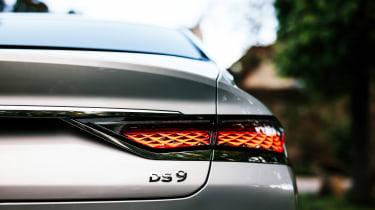 DS 9 saloon rear lights