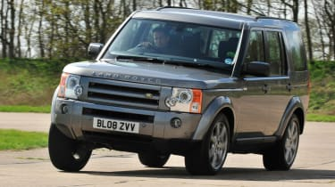 used land rover discovery front