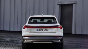 Audi e-tron 50 quattro static - rear view