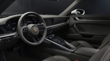 Porsche 911 Carrera 4 Coupe - Interior dashboard