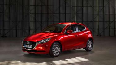 2020 Mazda 2 - static front 3/4