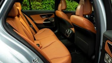Mercedes C-Class Estate rear seats