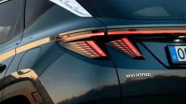 Hyundai Tucson SUV rear lights