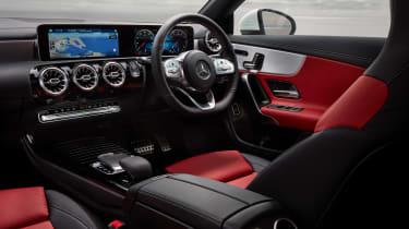 Mercedes CLA saloon interior