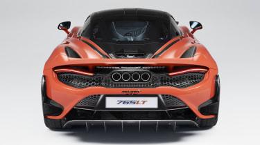 McLaren 765LT rear end