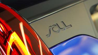 Kia Soul EV hatchback styling