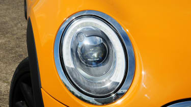 Buyers can choose LED headlights that are much brighter than standard ones