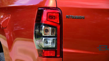Mitsubishi L200 pickup rear lights
