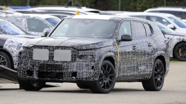 BMW X8 SUV prototype front view