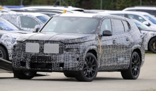 BMW X8 SUV prototype front view
