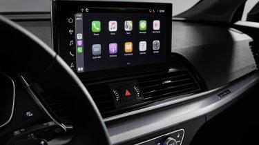 Audi Q5 facelift touchscreen