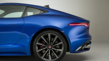 2020 Jaguar F-Type rear end - side view