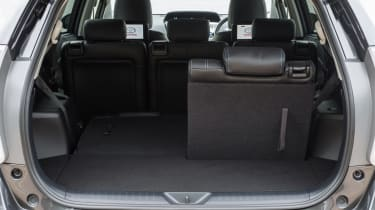 Toyota Prius+ MPV boot seat folded