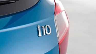 2020 Hyundai i10 badge