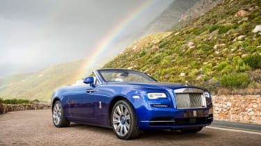 Almost every aspect of the Rolls-Royce Dawn can be personalised, to the extent no two are likely to be the same