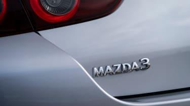 Mazda3 Fastback saloon rear badge