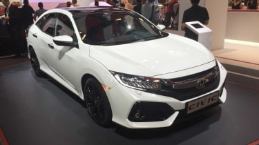 The new Honda Civic Hatchback.