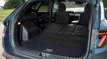 Hyundai Tucson SUV boot