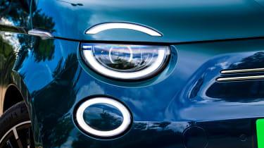 Fiat 500 electric LED lights