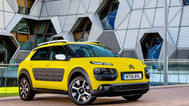 The Citroen C4 Cactus is a mix between a hatchback and a crossover with bold styling