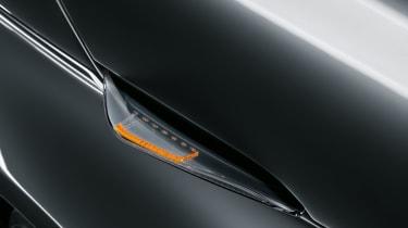 2020 Fiat 500 electric convertible - indicators