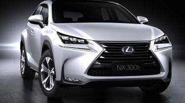 Lexus NX SUV front quarter static