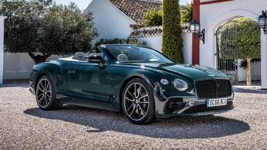 Bentley Continental GT Convertible front static