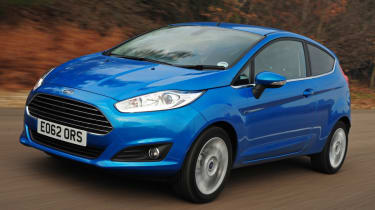 Ford Fiesta 2013 front quarter tracking