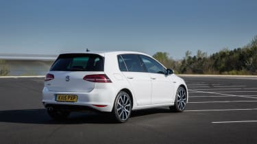 Although not quite as much fun as a GTI, the GTE is still a capable performer