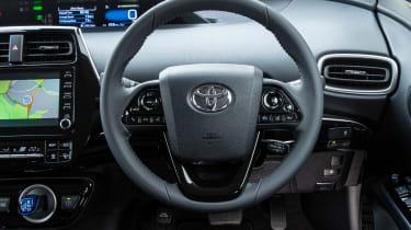 Toyota Prius Plug-in Hybrid hatchback interior