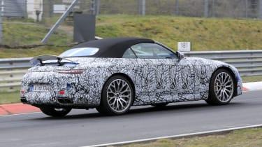 2021 Mercedes SL - rear 3/4