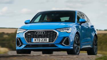 Audi Q3 Sportback SUV - front dynamic