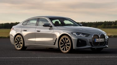 New BMW 4 Series Gran Coupe - front 3/4 static