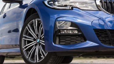 BMW 3 Series Touring front end detail