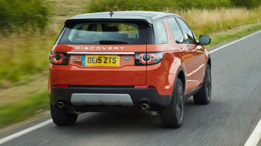 Land Rover Discovery Sport HSE - rear driving