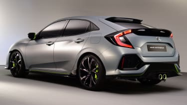 Designers intended to give the new Honda civic a real dynamic air