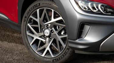 Hyundai Kona Hybrid SUV alloy wheels