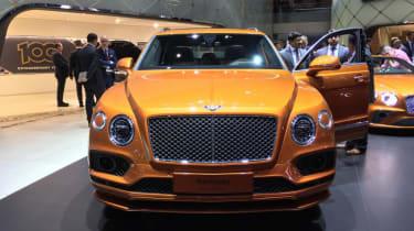 Bentley Bentayga Speed - Geneva - front view