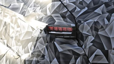 2021 Peugeot 308 prototype - rear lights close up