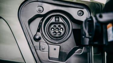 Lexus UX 300e SUV charging socket