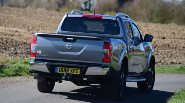 Nissan Navara - rear 3/4 dynamic