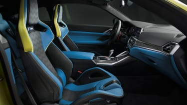 2021 BMW M4 Competition Coupe - interior side on view