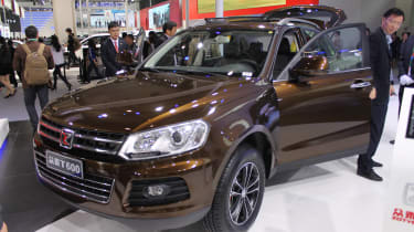 So Zotye seems to simply copied theirs from Volkwagen when styling the Chinese T600 SUV