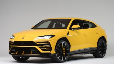 Set to be one of the fastest SUVs on sale, the Lamborghini Urus will certainly stand out