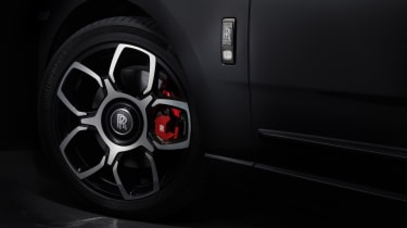 Rolls-Royce Cullinan Black Badge wheel