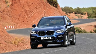 The X3 is one of the best SUVs to drive, with really secure handling